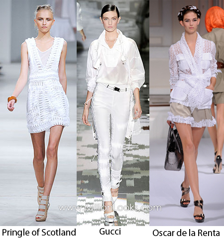 white color trend spring summer 2010