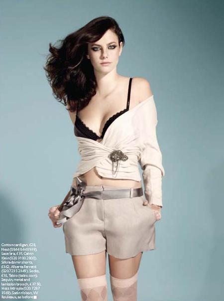 Kaya Scodelario Instyle Uk Magazine July 2010 Style Fashion Trend