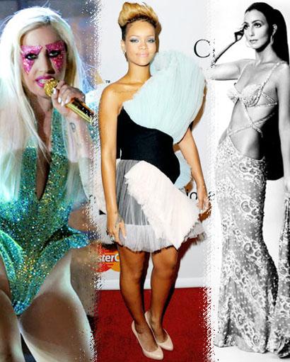 Lady gaga, Rihanna, Cher